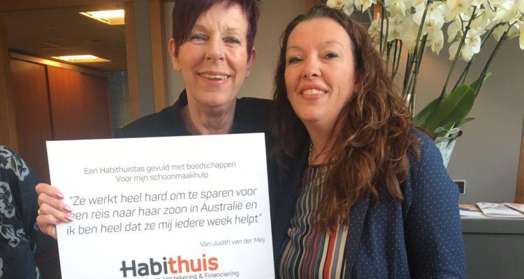 Judith Van Der Meij Verraste Haar Hulp Anja Met Een Goedgevulde Habithuis Boodschappentas