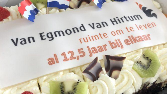 Van Egmond Van Hirtum Al 12,5 Jaar Bij Elkaar!