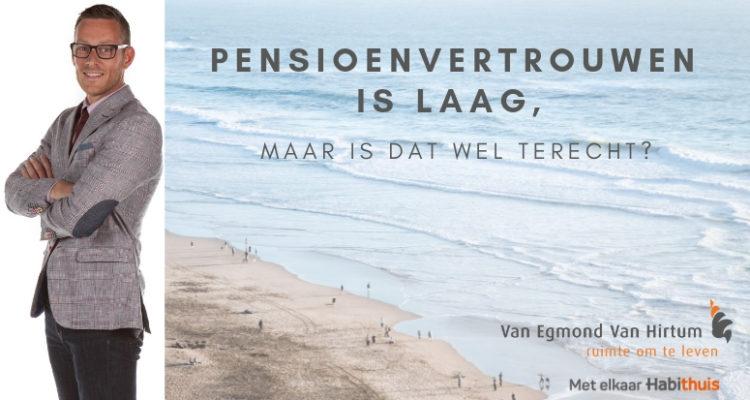 Pensioenvertrouwen Is Laag, (1)